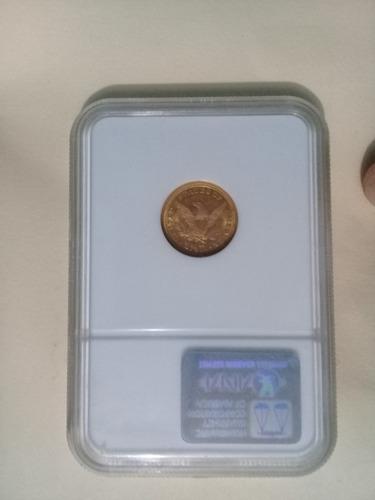 moneda de oro de 1896