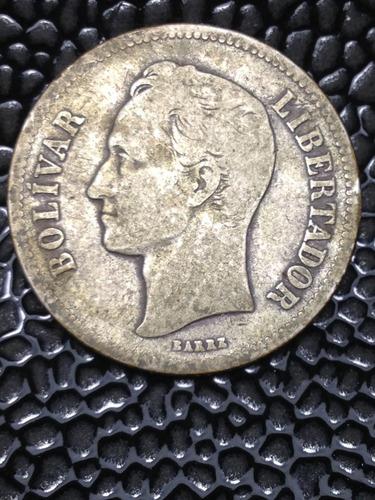 moneda de plata 2bs 1924*15