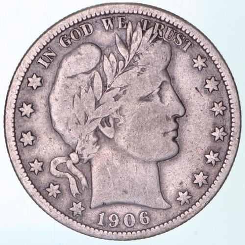 moneda de plata año 1906