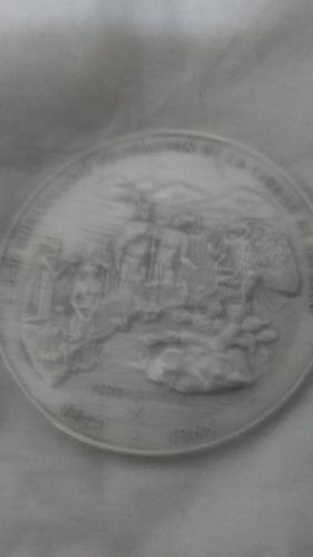 moneda de plata antigua 640 aniversario de la ciudad de méxi