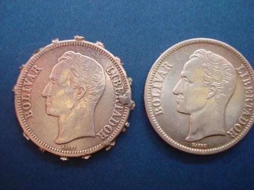 moneda de plata bs 2 1945 10 gr ley 835