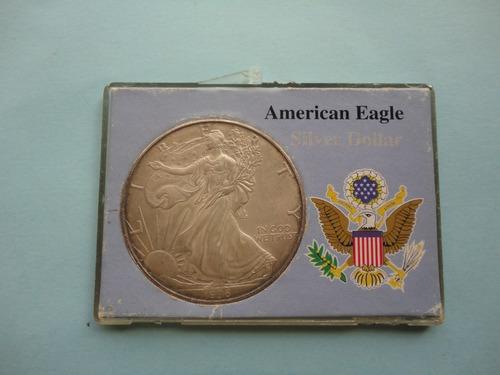 moneda de plata de 1996