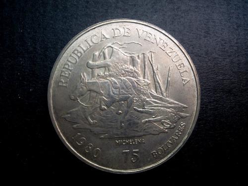 moneda de plata de antonio josé de sucre 1830-1980