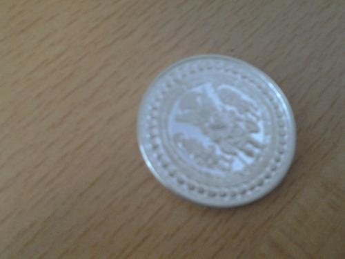 moneda de plata del señor de sipan