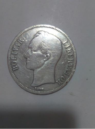 moneda de plata fuerte gram 25,1926, lei 900, perfecto