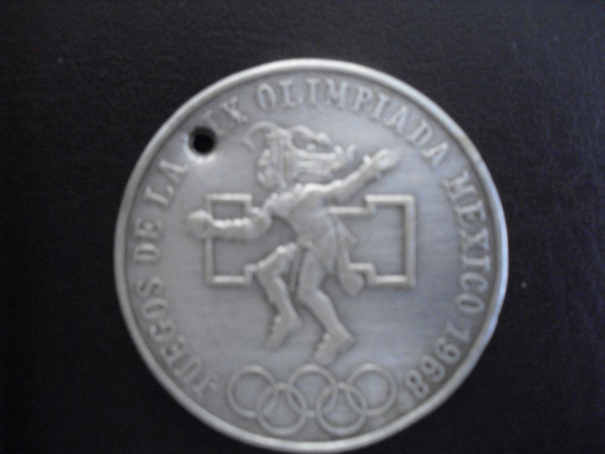 Moneda De Plata Juegos Olimpicos 1968 25 Pesos 720 Vbf 250 00