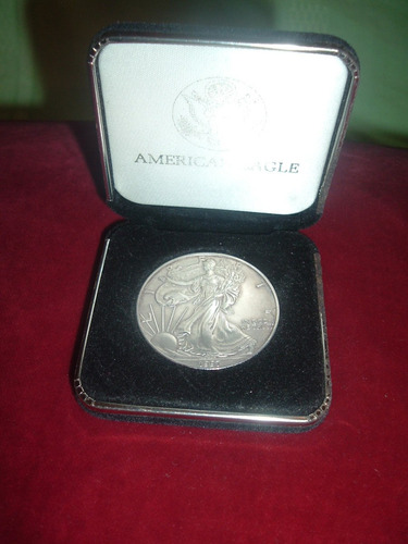 moneda de plata pura de 999