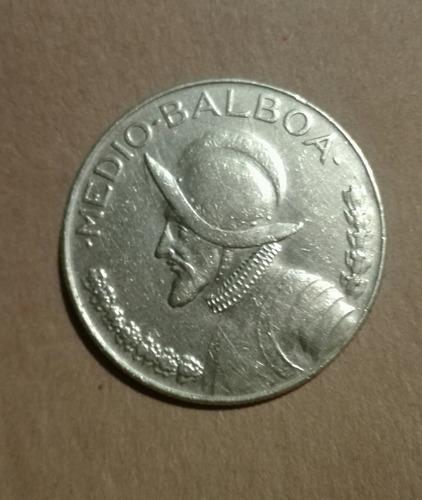 moneda de plata pura panamá