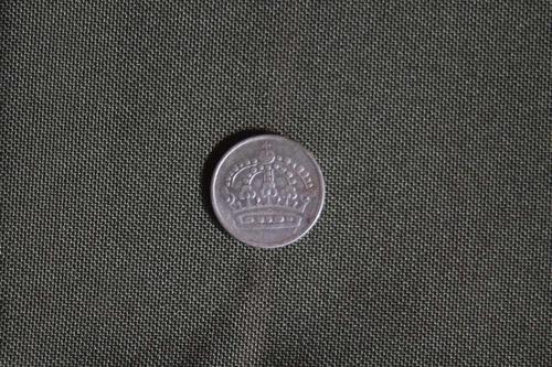 moneda de plata sueca: 25 ore sverige 1953