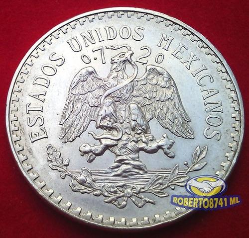 moneda de plata un peso resplandor año 1932