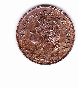 moneda de un centavo 1919 chile