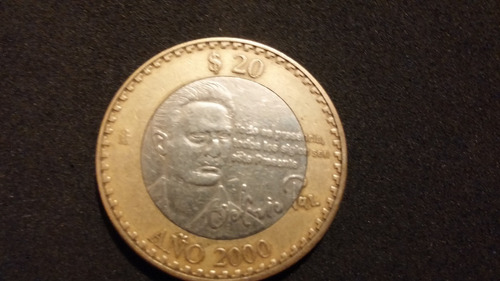 moneda de veinte pesos conmemorativa de octavio paz