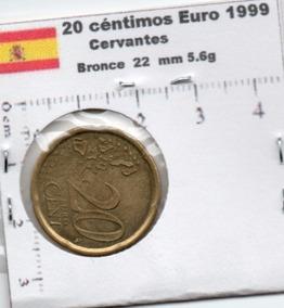 Moneda Del Mundo España Veinte Centimos Euro 1999 E90