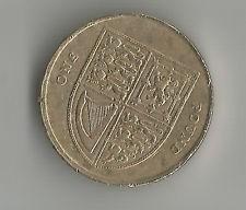 moneda del mundo one pound 2012 inglaterra