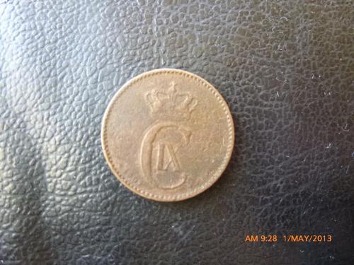 moneda dinamarka 2 ore 1902  christian ix (199z