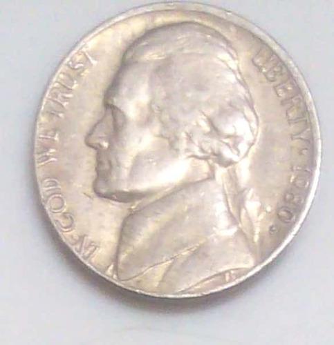 moneda ee.uu. de colección, año 1980