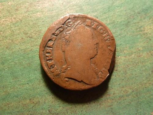 moneda ein kreuzer 1761 austria - vp