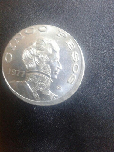 Moneda Error Guadalupe Victoria 1977 Finos Detalles Vean
