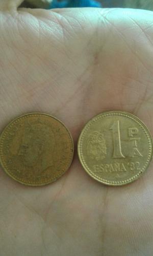 moneda españa 1 peseta mundial 82