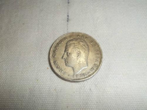 moneda españa. 25 pesetas j.  carlos 1  rey de españa.m.bien