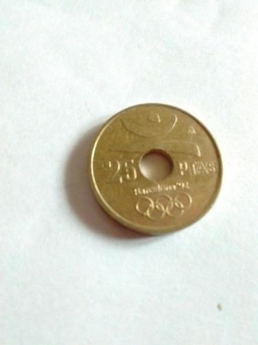 moneda española barcelona 1990 juegos olímpicos 92