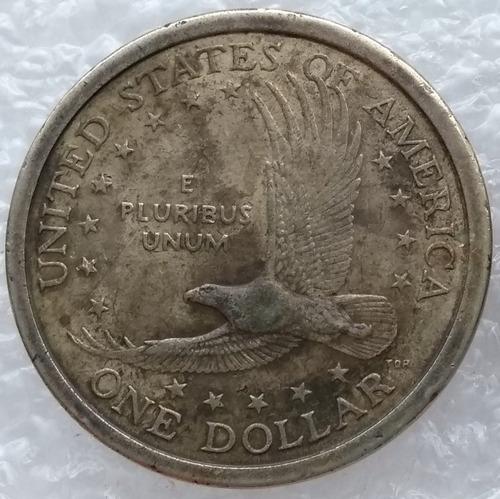 moneda estados unidos 1 dollar sacagawea 2000 ceca d