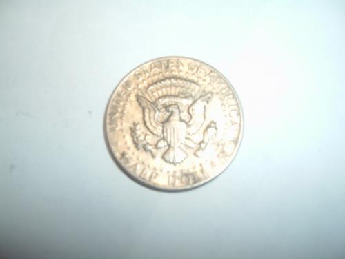 moneda estados unidos holf dollar 1965