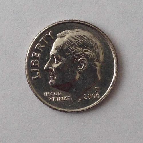 moneda estados unidos one dime p (2006)