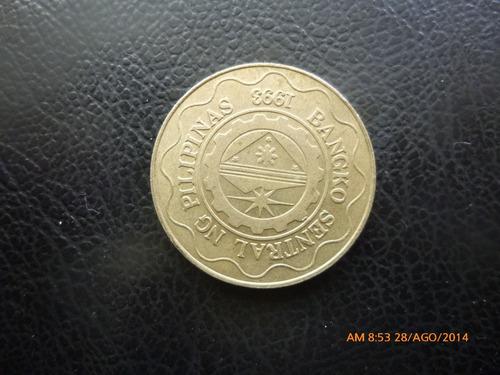 moneda filipina 5 peso 1996  (311z