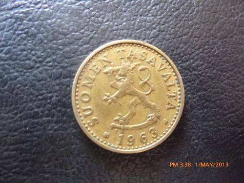 moneda finlandia 20 pennia 1963 (236z