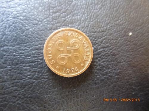 moneda finlandia 5 pennia 1974 (230z