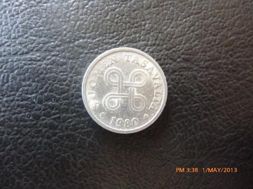 moneda finlandia 5 pennia 1980 (235z