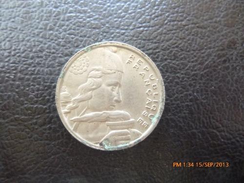 moneda  francia 100 francos 1954 (242z