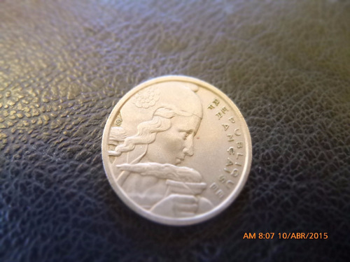moneda francia 100 francs 1954 (226z