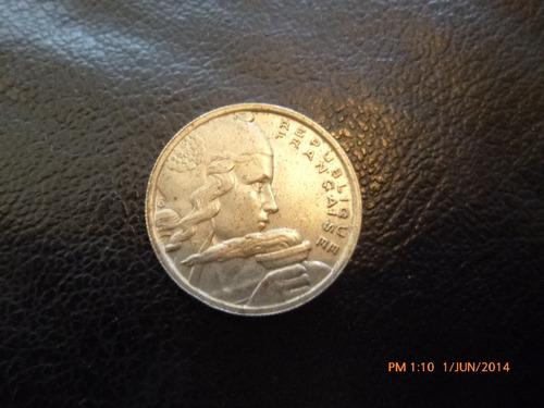 moneda francia 100 francs 1954 (z410