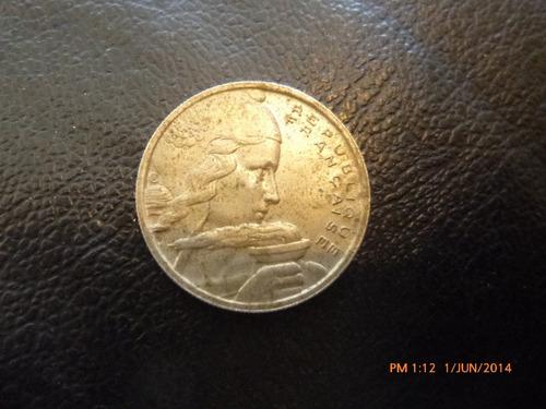 moneda francia 100 francs 1955 (220z