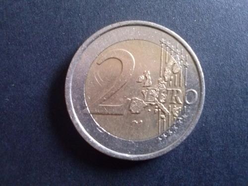 moneda francia 2 euros 2001 bimetálica (c1 classic)