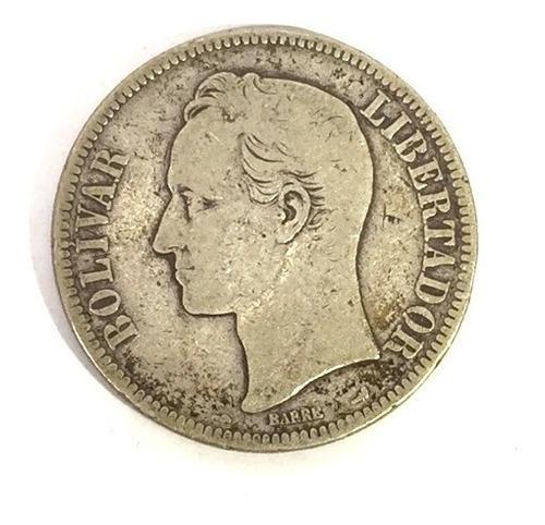 moneda fuerte de plata año 1901.peso 25 gramo lei 900