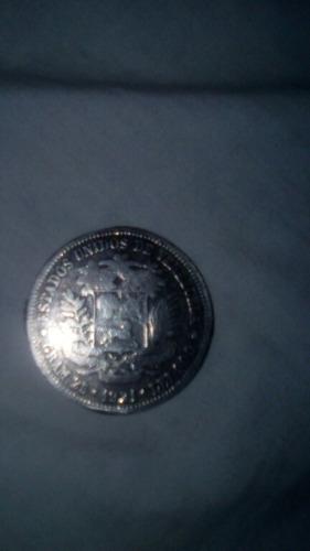 moneda fuerte plata 1921