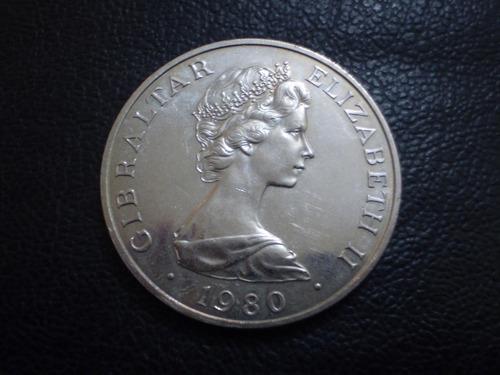 moneda gibraltar  1 crown conmemorativa (17z