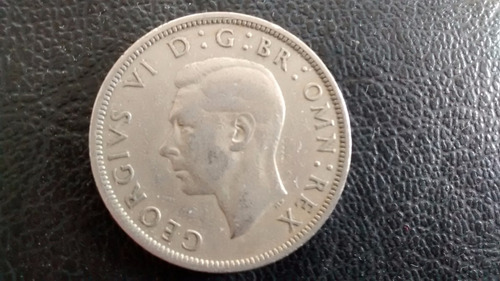 moneda gran bretaña half crown 1947 (a33