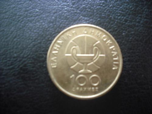 moneda grecia 100 apax-  1998 campeonato de basques (15z