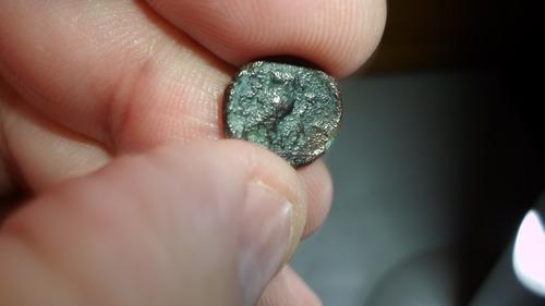 moneda griega-1 onkia de kamarina-año 425 al 405 a.c.
