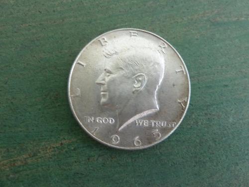 moneda half dollar 1965 usa plata - vp