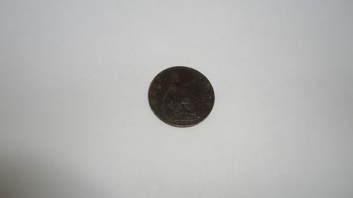 moneda half penny inglesa año 1905 para coleccion veala