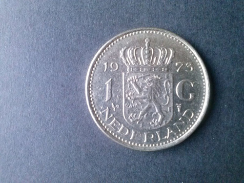 moneda holanda 1 golden niquel 1973