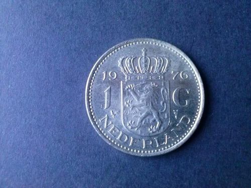 moneda holanda 1 golden niquel 1976