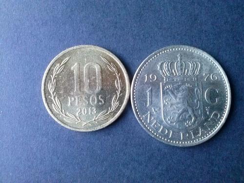moneda holanda 1 golden niquel 1976