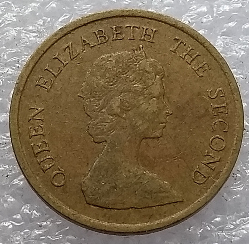 moneda hong kong 1982 10 centavos reina elizabeth ii