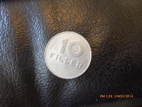 moneda hungria 10 filler 1974 (139z